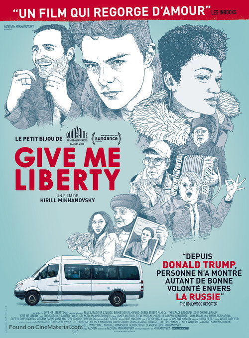 Give Me Liberty - French Movie Poster