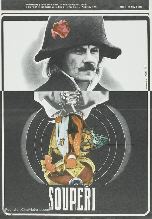 The Duellists - Czech Movie Poster