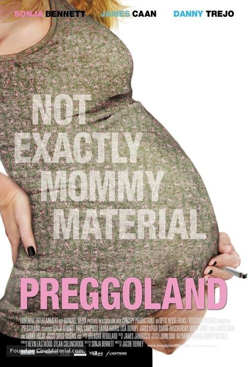 Preggoland - Canadian Movie Poster