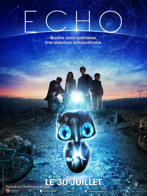 Earth to Echo - French Movie Poster