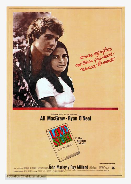 Love Story - Spanish Movie Poster