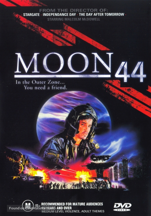 Moon 44 - Australian DVD movie cover