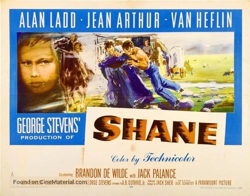 Shane - Movie Poster