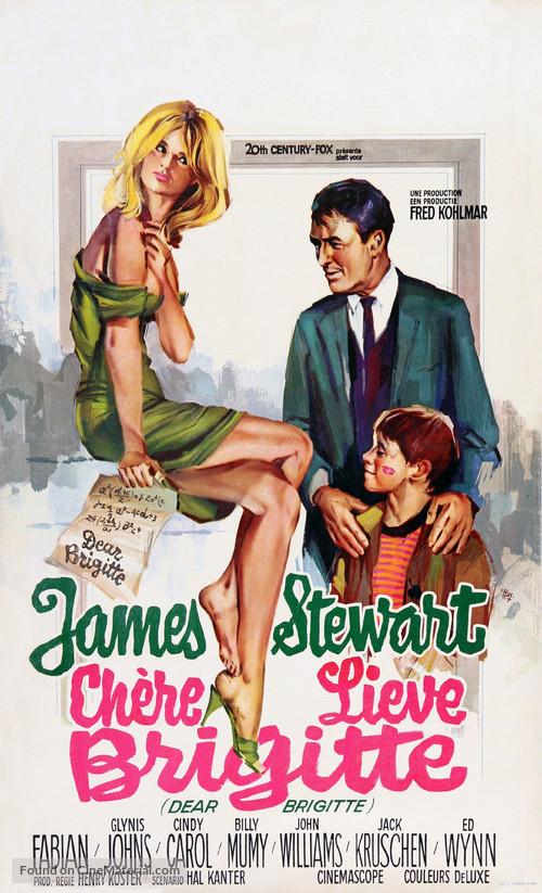 Dear Brigitte - Belgian Movie Poster