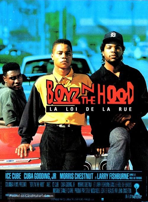 boyz n the hood french movie poster