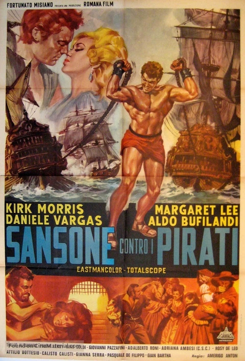 Sansone contro i pirati - Italian Movie Poster