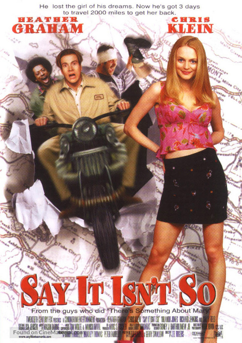Say It Isn't So - Movie Poster