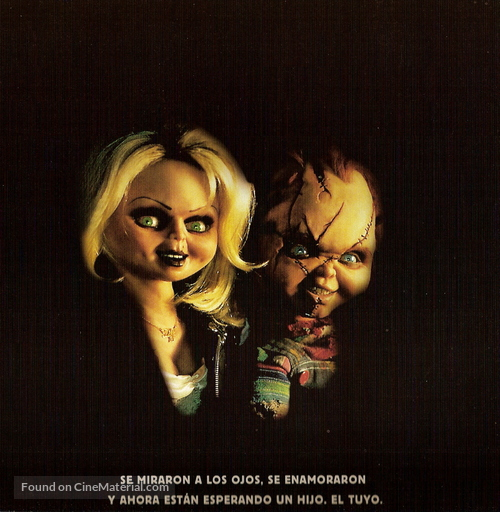 Bride of Chucky - Argentinian Movie Poster