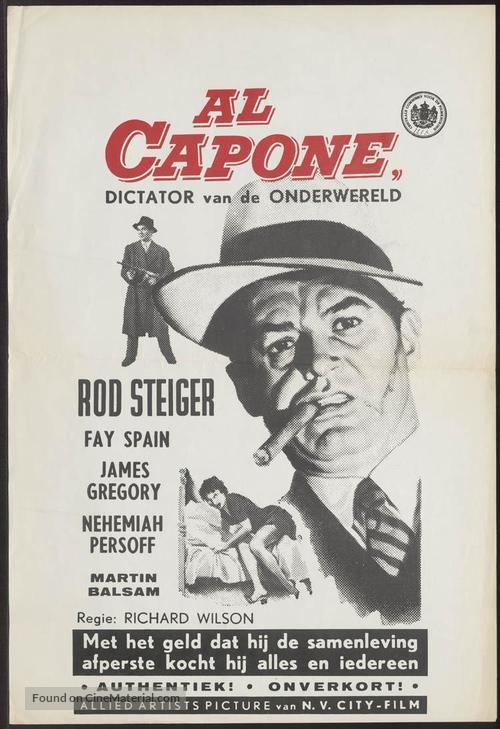 Al Capone - Dutch Movie Poster