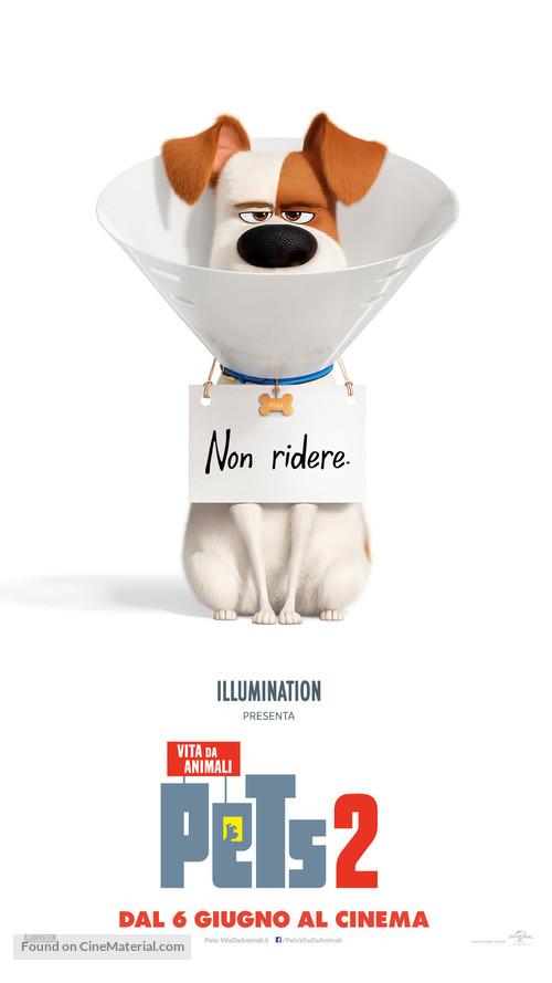 The Secret Life of Pets 2 - Italian Movie Poster