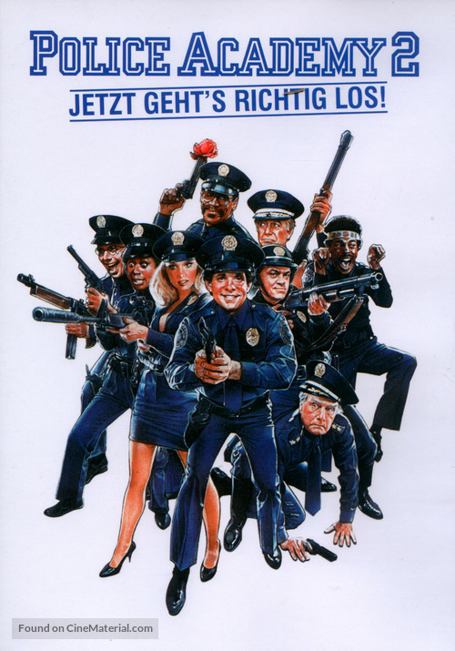 Police Academy 2: Their First Assignment - German Movie Cover