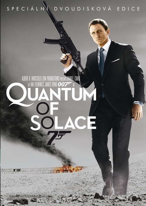 Quantum of Solace - Czech Movie Cover