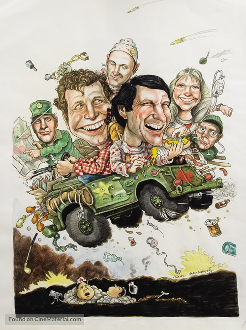 """M*A*S*H"" - Movie Poster"
