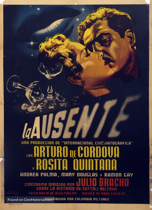La ausente - Mexican Movie Poster