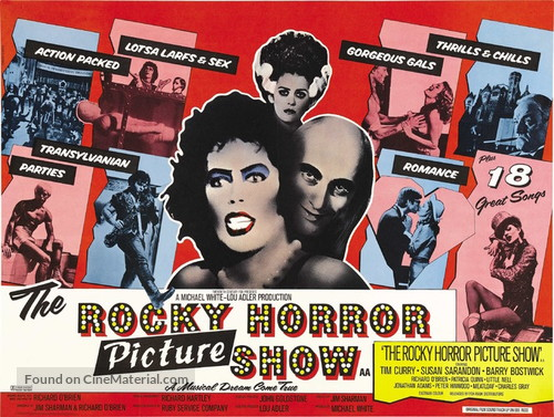 The Rocky Horror Picture Show - British Movie Poster