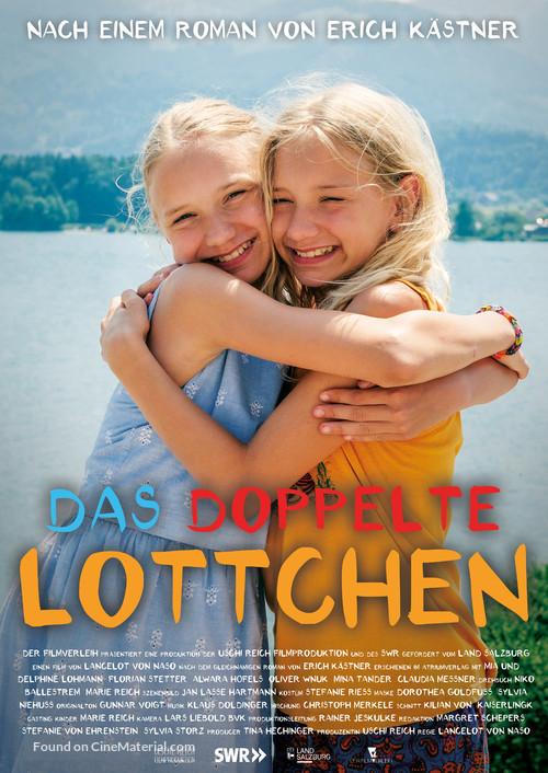 Das doppelte Lottchen - German Movie Poster