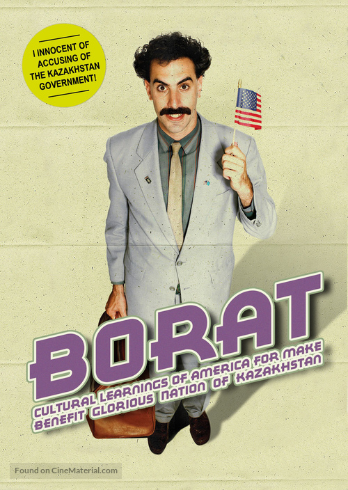 Borat: Cultural Learnings of America for Make Benefit Glorious Nation of Kazakhstan - Dutch Movie Cover