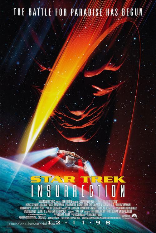 Star Trek: Insurrection - Movie Poster