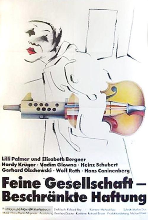 Feine Gesellschaft - beschränkte Haftung - German Movie Poster