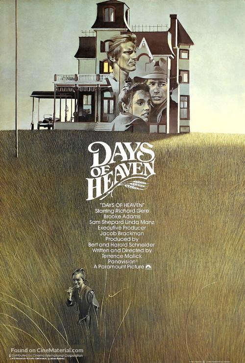 Days of Heaven - British Movie Poster