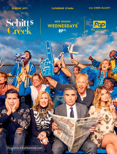 """Schitt's Creek"" - Canadian Movie Poster"