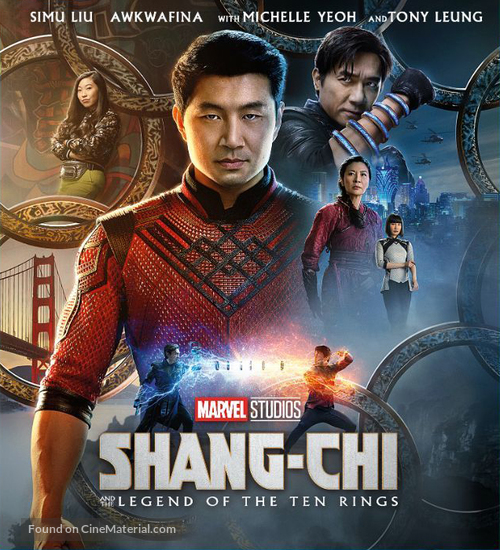 Shang-Chi and the Legend of the Ten Rings - Movie Cover