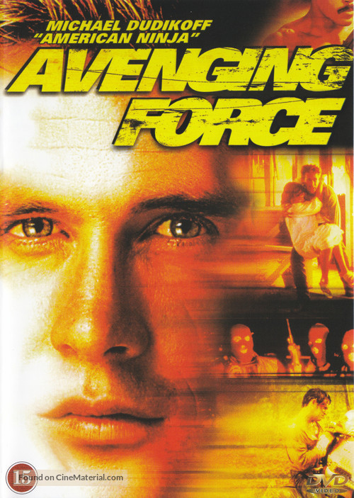 Avenging Force - Danish Movie Cover
