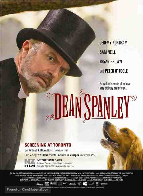 Dean Spanley - Canadian Movie Poster