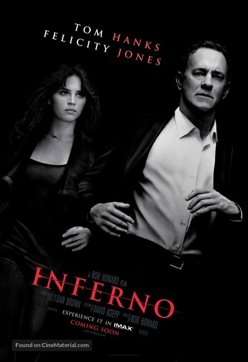 Inferno - Movie Poster