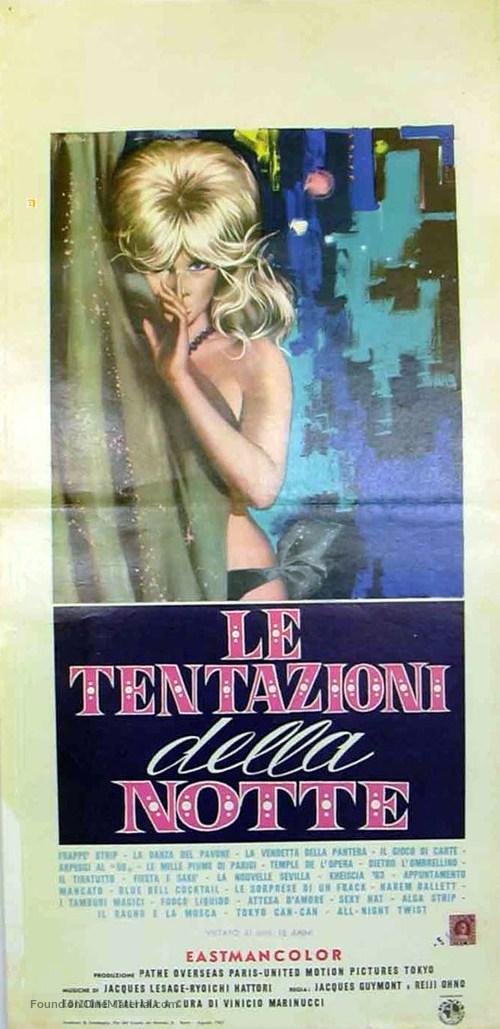Il mondo di notte - Italian Movie Poster