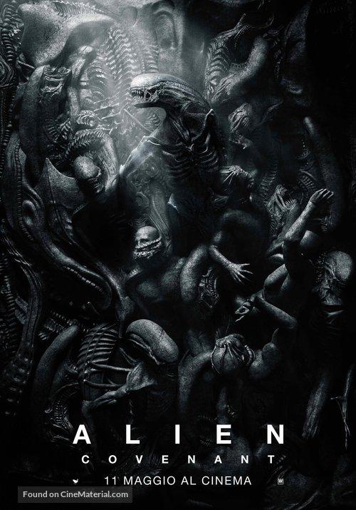 Alien: Covenant - Italian Movie Poster