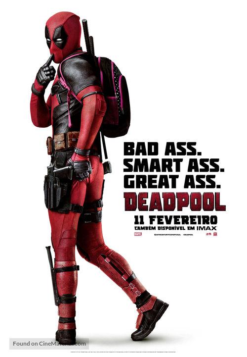 Deadpool - Portuguese Movie Poster