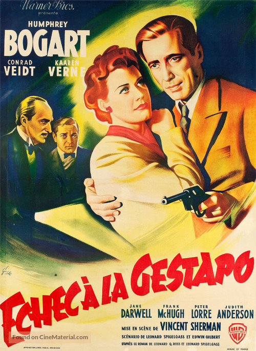 All Through the Night - French Movie Poster