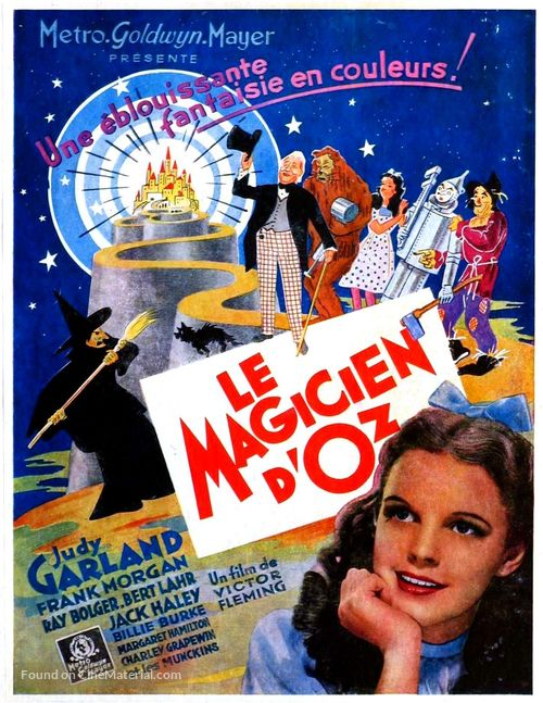 The Wizard of Oz - Belgian Movie Poster