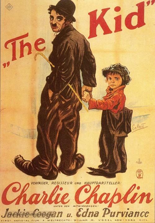 The Kid - German Movie Poster