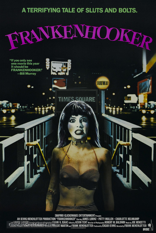 Frankenhooker - Movie Poster