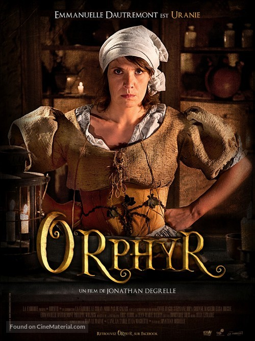 Orphyr - French Movie Poster