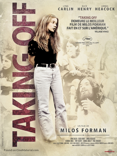 Taking Off - French DVD movie cover