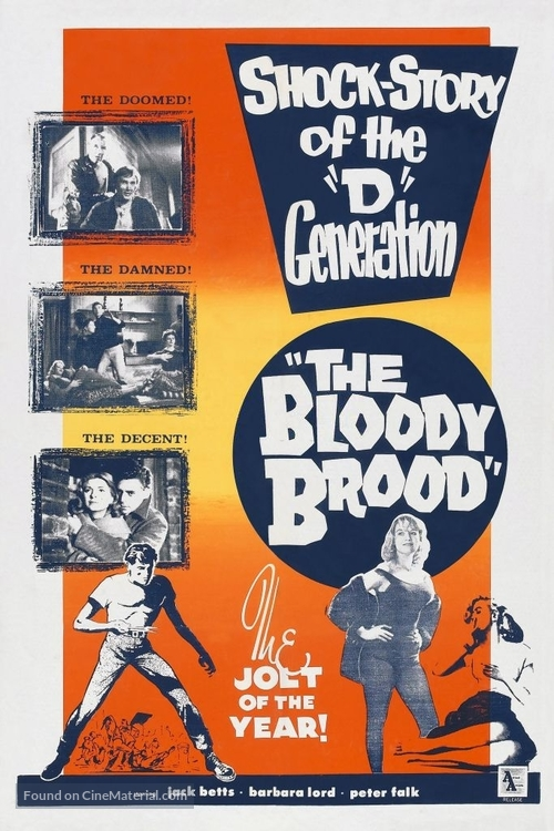 The Bloody Brood - Movie Poster