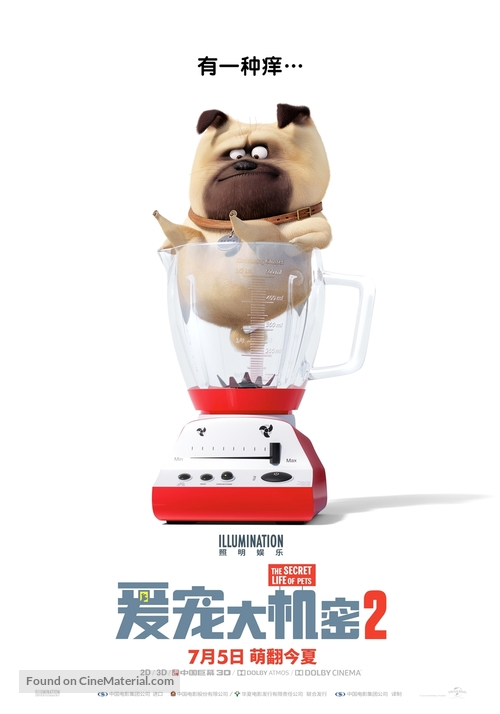 The Secret Life of Pets 2 - Chinese Movie Poster