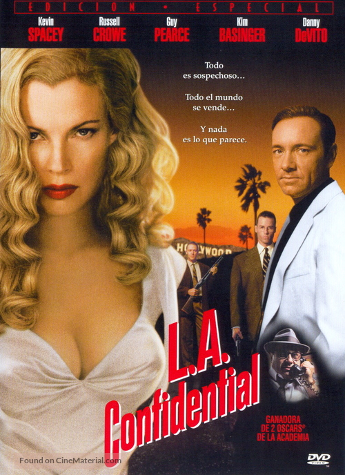 L.A. Confidential - Spanish DVD movie cover