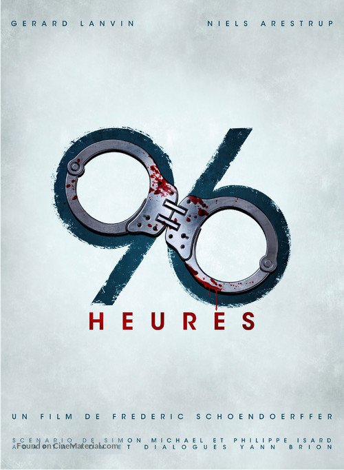 96 heures - French Movie Poster