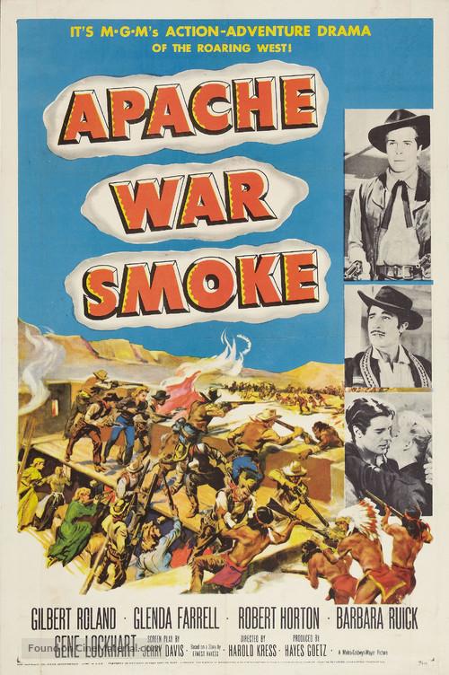 Apache War Smoke - Movie Poster