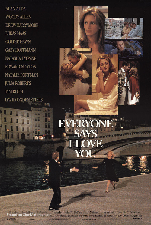 Everyone Says I Love You - Movie Poster