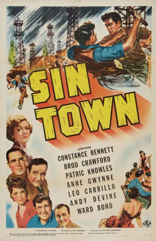 Sin Town - Movie Poster