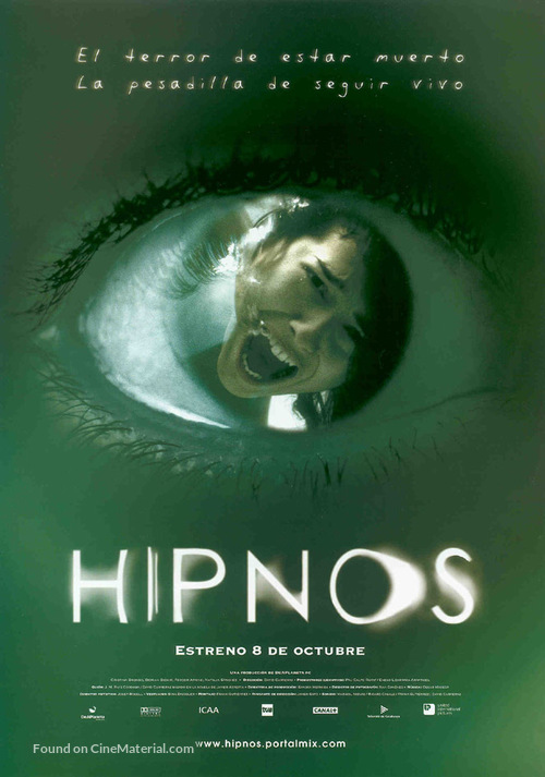 Hipnos - Spanish Movie Poster