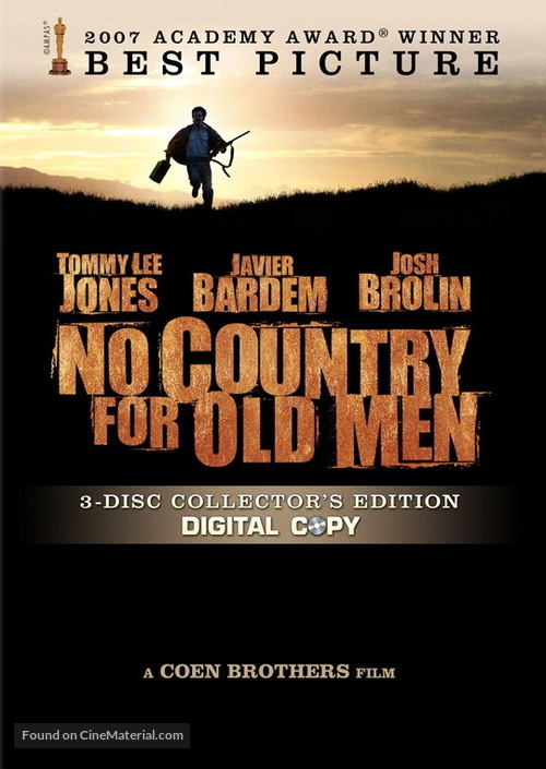 No Country for Old Men - DVD cover