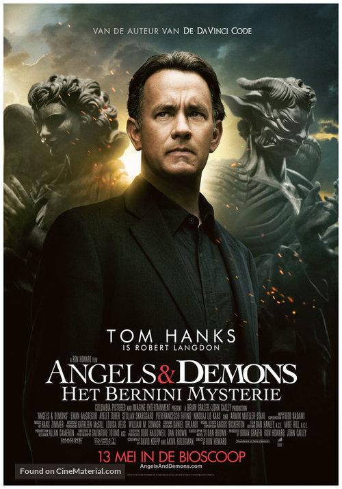 Angels & Demons - Dutch Movie Poster