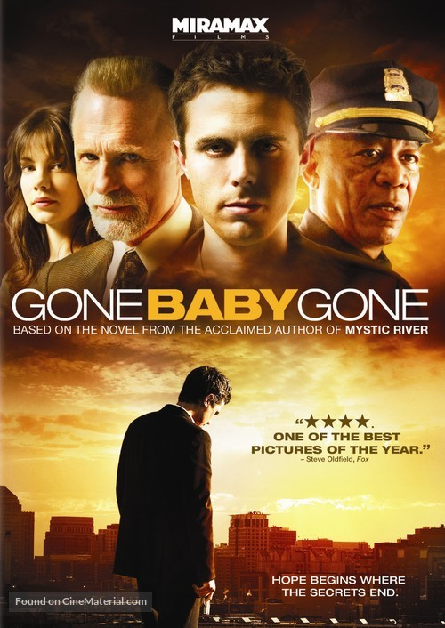 Gone Baby Gone - DVD movie cover