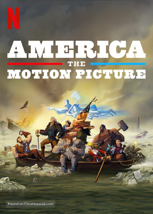 America: The Motion Picture - Video on demand movie cover